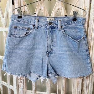 Vintage high waisted cutoff shorts